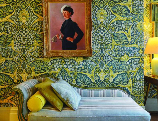 Kipling suite bedroom
